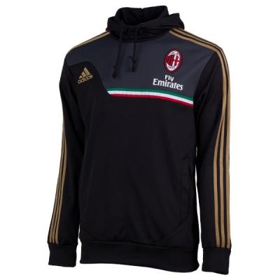 Футбольная толстовка Милан 2013-14 (black)