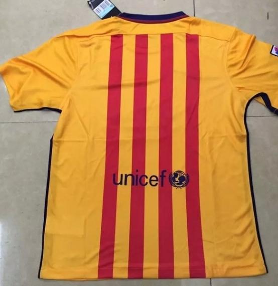 Футбольная форма клуба Барселона (гостевая)