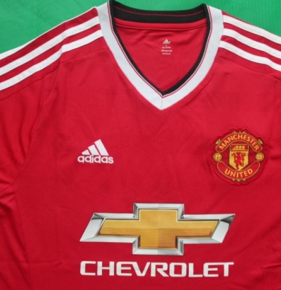 Футбольная форма клуба Манчестер Юнайтед (домашняя)