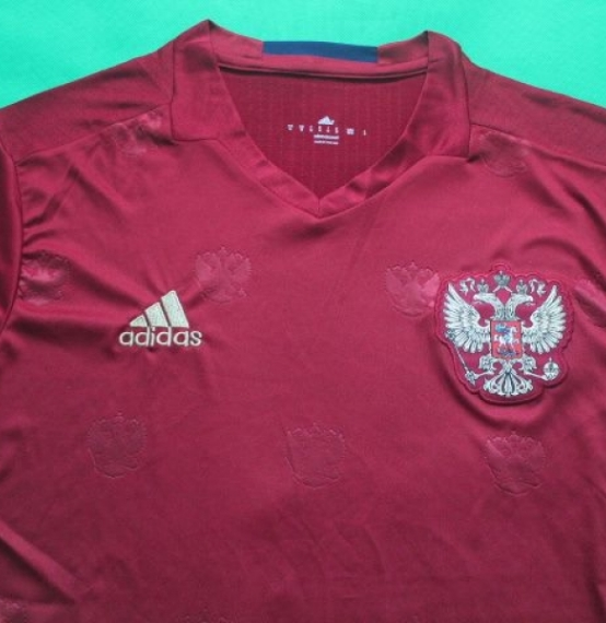 Футбольная форма сборной России (домашняя)