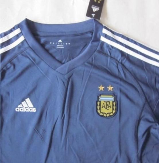 Футбольная форма сборной Аргентины (гостевая)