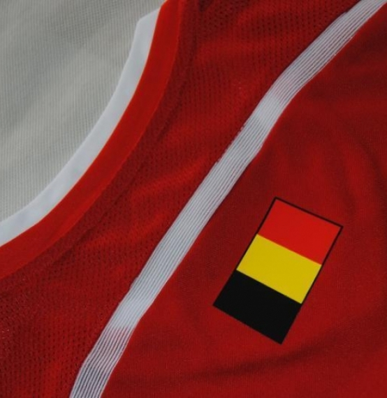 Футбольная форма сборной Бельгии (домашняя)