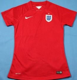 Футболка женская футбольная сборной Англии (гостевая)
