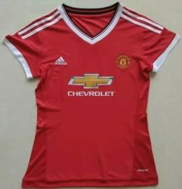Футболка женская футбольного клуба Манчестер Юнайтед (домашняя)