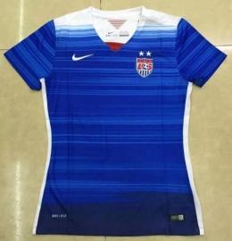 Футболка женская футбольная сборной США (гостевая)