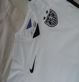 Футболка женская футбольная сборной США (домашняя)