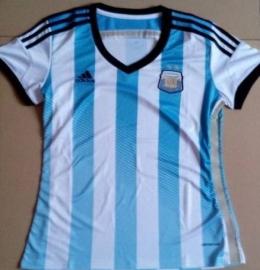 Футболка женская футбольная сборной Аргентины (домашняя)