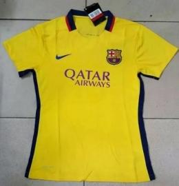 Футболка женская футбольного клуба Барселона (гостевая)