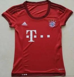 Футболка женская футбольного клуба Бавария (домашняя)