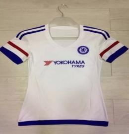 Футболка женская футбольного клуба Челси (гостевая)