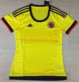 Футболка женская футбольная сборной Колумбии (домашняя)