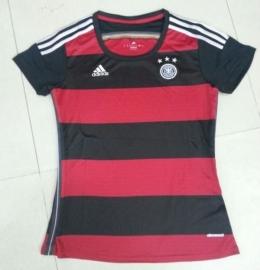 Футболка женская футбольная сборной Германии (гостевая)