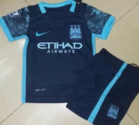 Детская футбольная форма Манчестер Сити (гостевая)