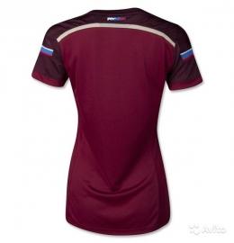Футболка женская футбольная сборной России (домашняя)