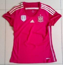Футболка женская футбольная сборной Испании (домашняя)