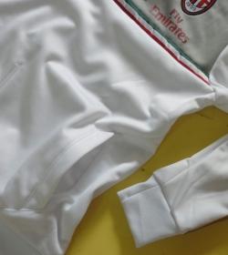 Футбольная толстовка Милан 2013-14 (white)