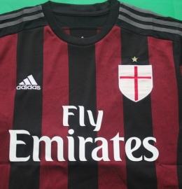 Футбольная форма клуба Милан (домашняя)