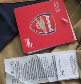 Футбольная форма клуба Арсенал (гостевая)