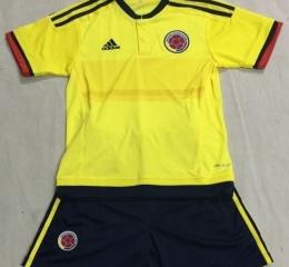 Детская форма сборной Колумбии (домашняя)