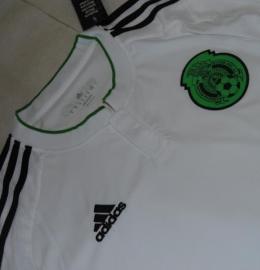 Футбольная форма сборной Мексики (гостевая)