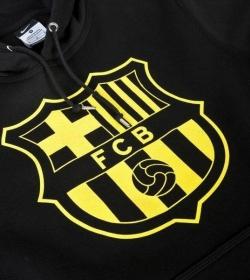 Футбольная толстовка Барселона 2013-14 (black)