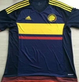 Футбольная форма сборной Колумбии (гостевая)