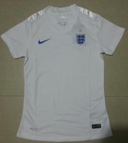Футболка женская футбольная сборной Англии (домашняя)