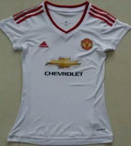 Футболка женская футбольного клуба Манчестер Юнайтед (гостевая)