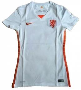 Футболка женская футбольная сборной Голландии (гостевая)