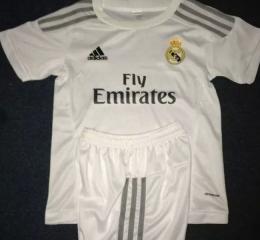 Детская футбольная форма Реал Мадрид (домашняя)