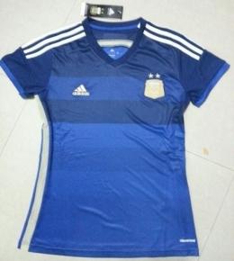 Футболка женская футбольная сборной Аргентины (гостевая)