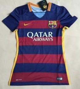 Футболка женская футбольного клуба Барселона (домашняя)