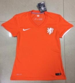 Футболка женская футбольная сборной Голландии (домашняя)