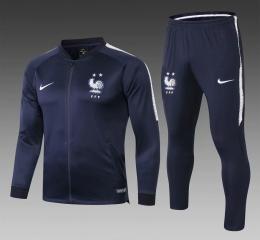 Футбольный костюм сборной Франции 2018-2019 синий