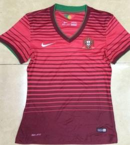 Футболка женская футбольная сборной Португалии (домашняя)