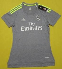 Футболка женская футбольного клуба Реал Мадрид (гостевая)