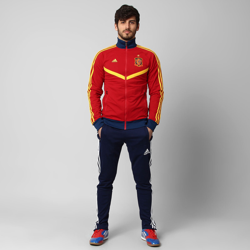 13-14 Spain Track Top Jackets Red6